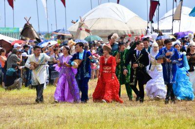 Международный фестиваль «Дух великой степи» прошел в предгорьях Каратау