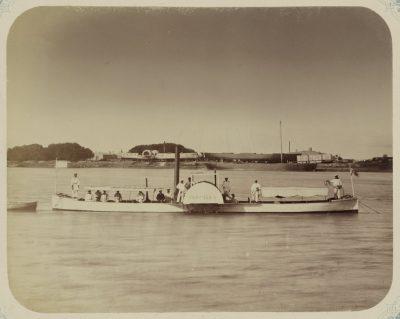 Казалинск. Пристань аральской флотилии