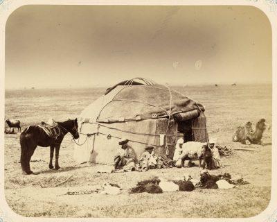 Кибитка - жилище киргиза