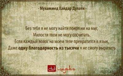 Мухаммед Хайдар Дулати 04