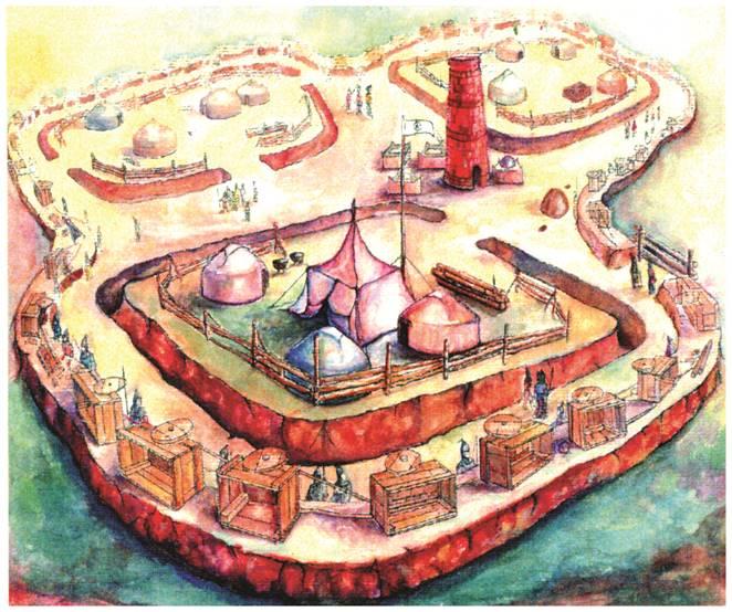 Бозок – военная ставка на месте современной Астаны