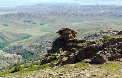 Где находится самая высокая точка Сары-Арки?