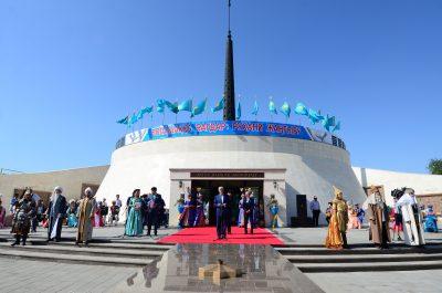 В Алматинской области открыт мемориальный комплекс «Батыр бабалар»