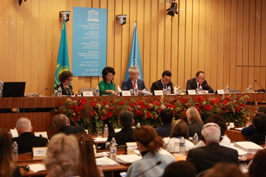 Программа «Рухани Жанғыру» презентована в штаб квартире ЮНЕСКО