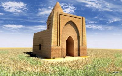 По легенде после смерти Абат батыра его мавзолей воздвигнули за три дня