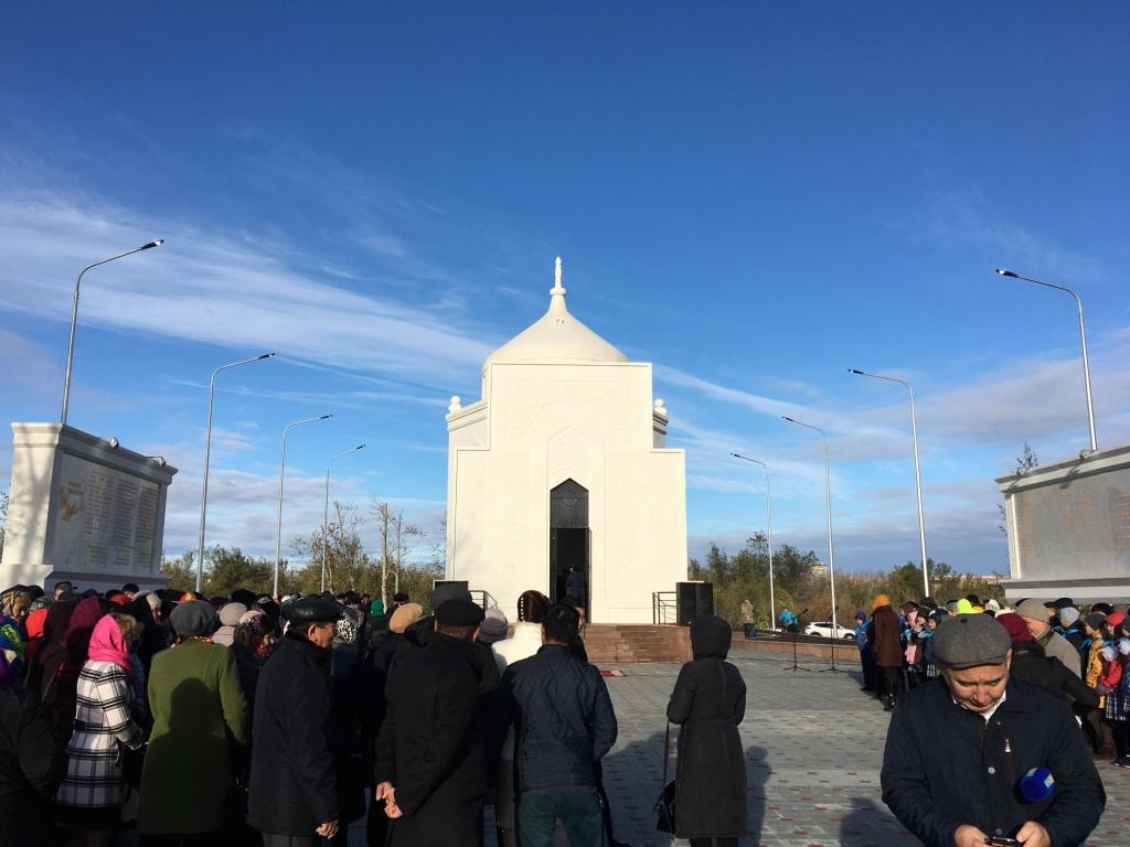 В Костанайской области реконструировали мавзолей Ибрая Алтынсарина