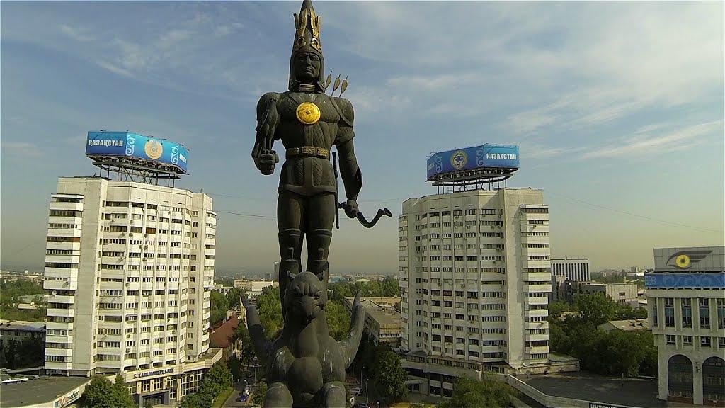 Площадь Республики в Алматы вошла в сакральную карту Казахстана