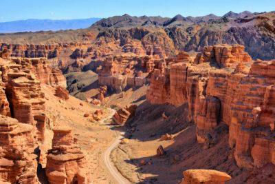 Сакральную карту Казахстана пополнили Чарынский каньон и пик Хан-Тенгри