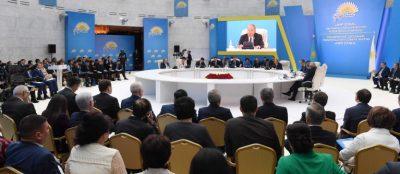 Н.Назарбаев: «Рухани жаңғыру» — платформа для идеологической работы партии «Нур Отан»