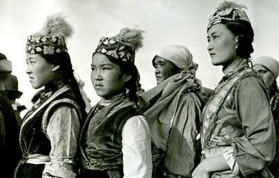 Физкультурницы Казахстана 1938 год