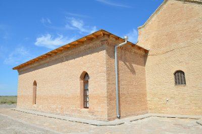 В мавзолее Арыстан-Баба прошла реконструкция